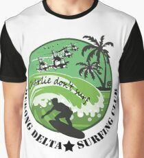 MEKONG DELTA SURF CLUB (ARMY ISSUE) 2 Graphic T-Shirt
