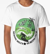 MEKONG DELTA SURF CLUB (ARMY ISSUE) 2 Long T-Shirt
