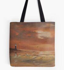 Evening Orange Tote Bag