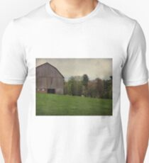 Cloudy day on the farm Unisex T-Shirt