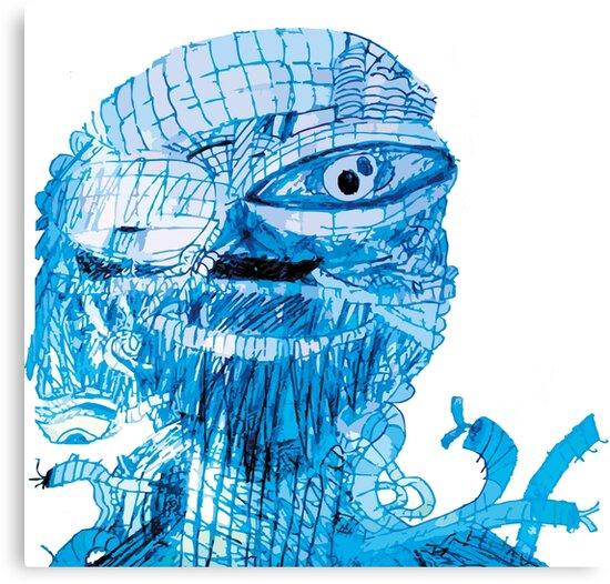 FNAF - ENNARD - BLUE by bespired