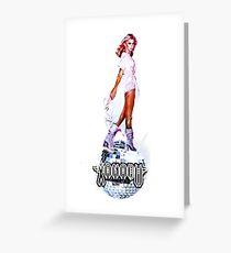 OLIVIA NEWTON-JOHN - XANADU - DISCO Greeting Card