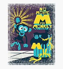 No more M for Monkey - Dexter's Laboratory - color b Photographic Print