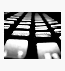 Keyboard Photographic Print