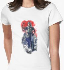 Rainbow Six Siege Valkyrie Painting Womens Fitted T-Shirt