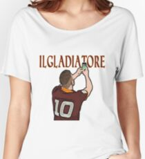 Il Gladiatore - Totti Women's Relaxed Fit T-Shirt