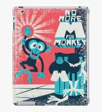 No more M for Monkey - Dexter's Laboratory iPad Case/Skin