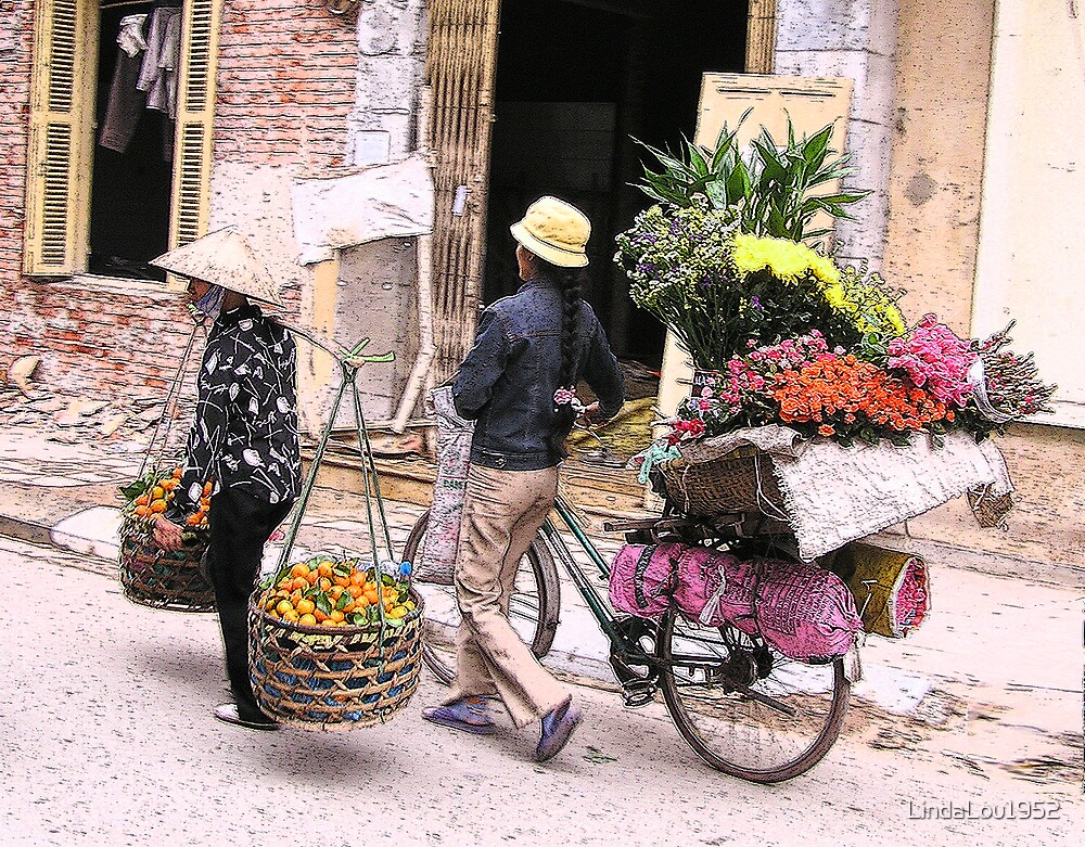 Going to Market by LindaLou1952