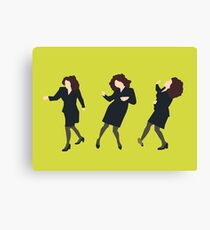 Elaine Dancing Canvas Print