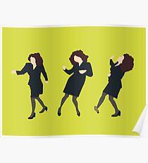 Elaine Dancing Poster