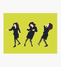 Elaine Dancing Photographic Print