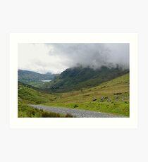 Mt. Snowdon, North Wales,  Art Print