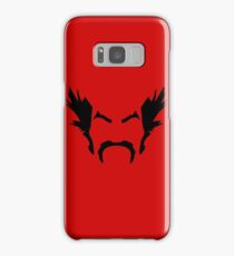 HeiHachi Mishima Tekken Black Samsung Galaxy Case/Skin