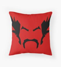HeiHachi Mishima Tekken Black Throw Pillow