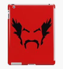 HeiHachi Mishima Tekken Black iPad Case/Skin