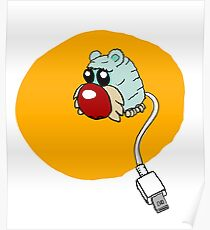 furry usb mouse Poster