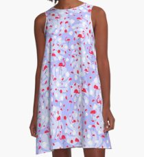 Fresh Flock I A-Line Dress