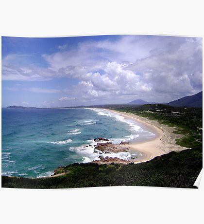 Up North on the East Coast looking South (New South Wales) Poster