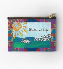 Water is Life Studio Pouch