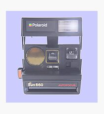 Polaroid Sun 650 Camera Autofocus Photographic Print