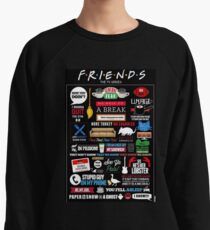 Friends Quotes Lightweight Sweatshirt