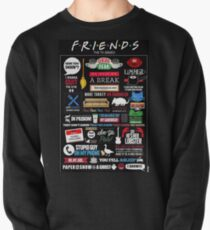 Friends Quotes Pullover