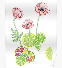 Fruity Blooms! Poster