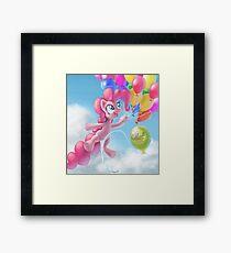 Pinkie Sky Framed Print