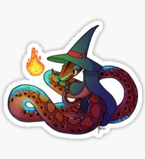 Brazillian Rainbow Boa - Calcifer Sticker