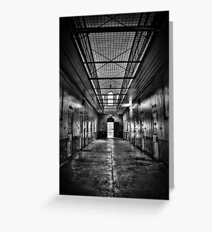 Incarceration Greeting Card