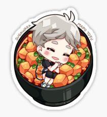 Fav!Food series: Sugawara Sticker