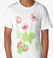 Fruity Blooms! Long T-Shirt