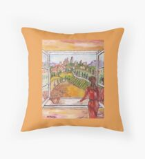 L'attesa Throw Pillow