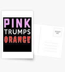 Keep Fighting for Justice Pink Trumps Orange Postcards