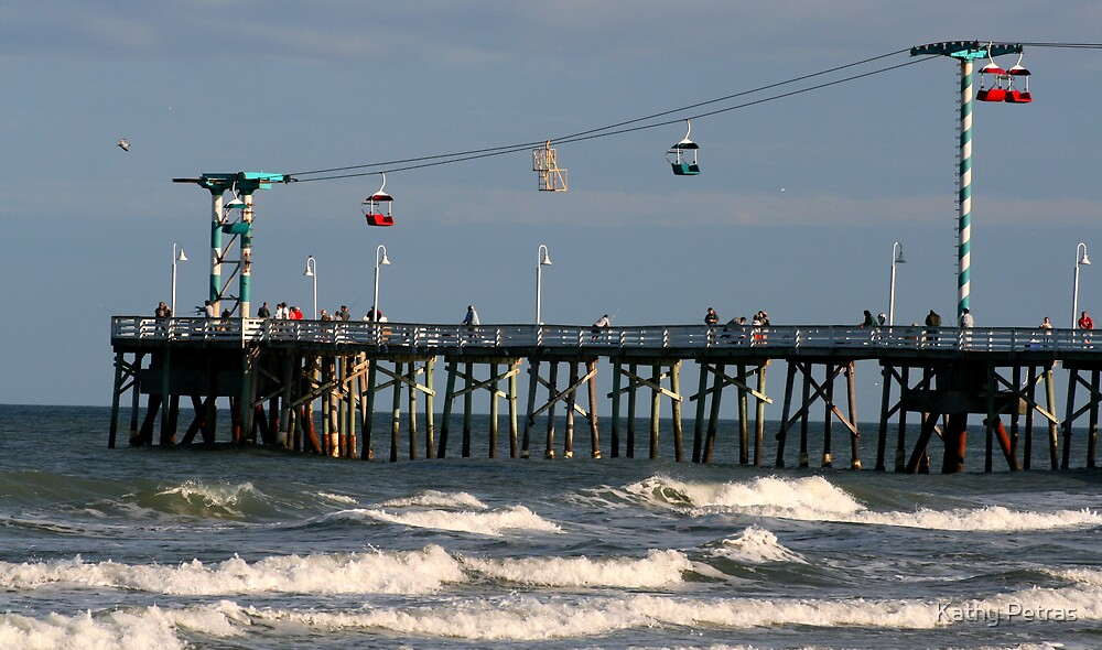The Pier by Kathy Petras