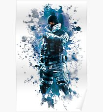 Rainbow Six Siege Frost Painting Poster