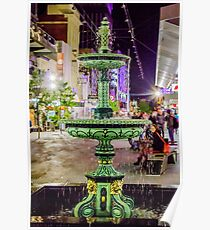 Rundle Mall Fountain Poster