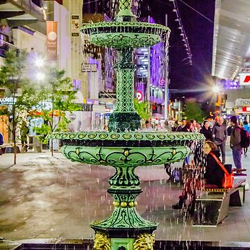 Rundle Mall Fountain by risingstar