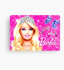 BARBIE - CROWN Canvas Print