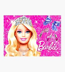 BARBIE - CROWN Photographic Print
