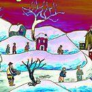 A winter scene by Loredana Messina