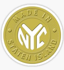 Made In New York Staten Island Sticker