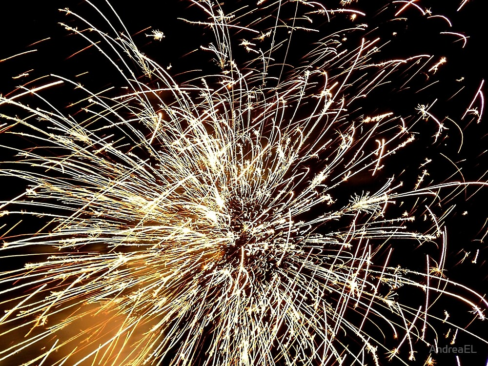 Pyrotechnic Mania - Fire Works - NZ by AndreaEL