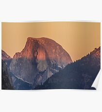 Half Dome, Yosemite National Park, CA Poster