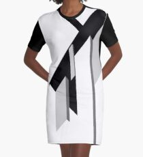 Architecture Graphic T-Shirt Dress
