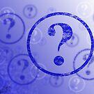 Question Mark Background by Henrik Lehnerer