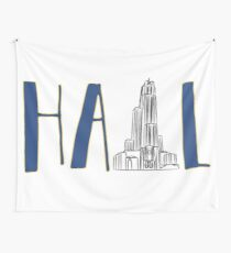 Hail to Pitt Wall Tapestry