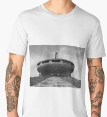 Buzludzha monument communist brutalist architecture Men's Premium T-Shirt