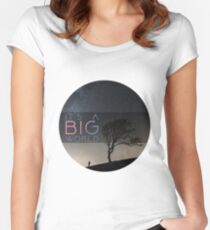 big world Women's Fitted Scoop T-Shirt