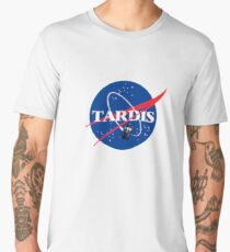 Nasa Tardis Men's Premium T-Shirt